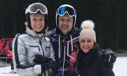 lyžování bílá spedos