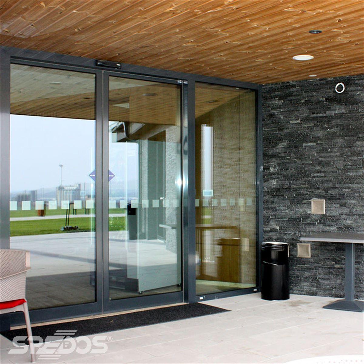 Automatické dveře reference pro golfový klub Nitra