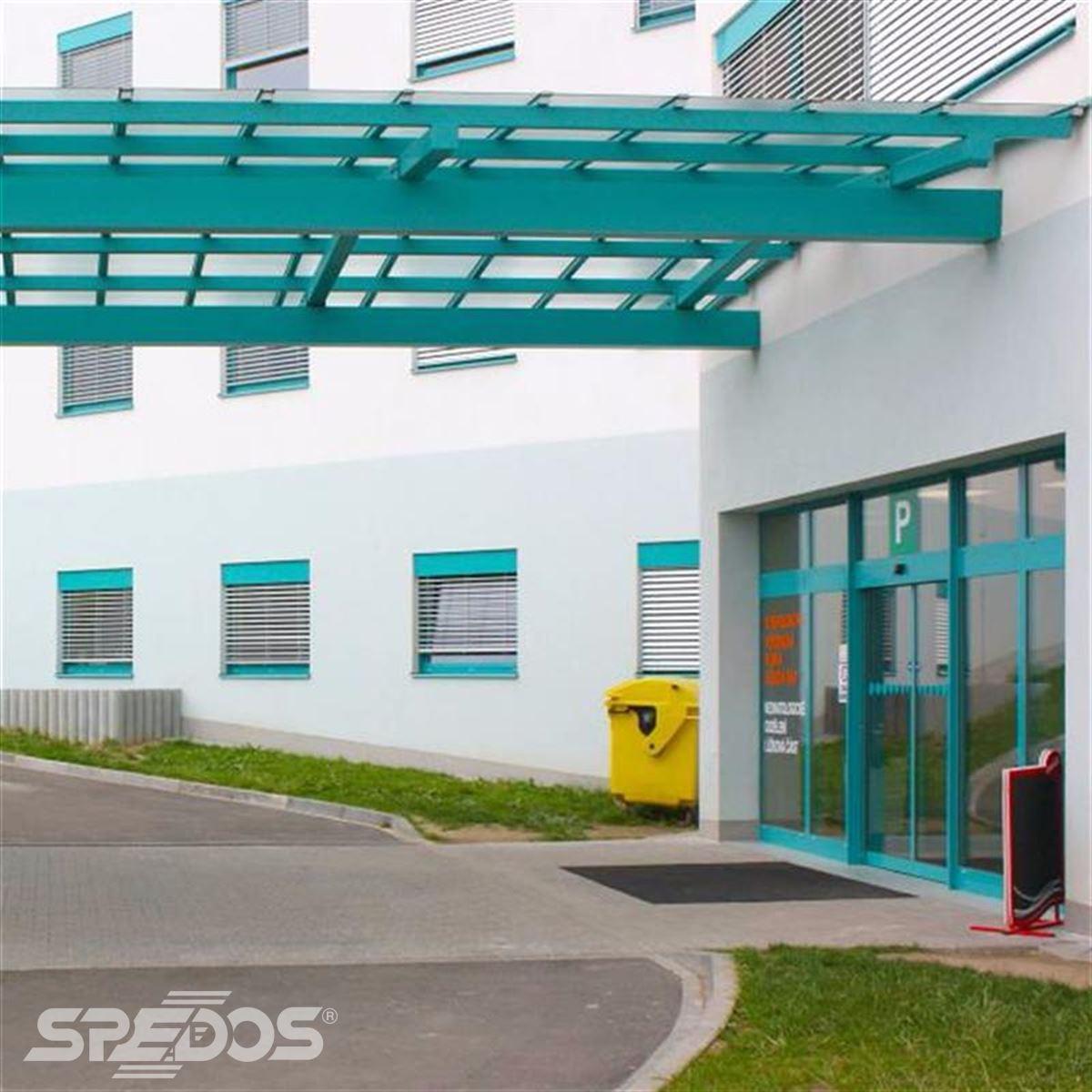 Dvoukřídlové automatické dveře Spedos
