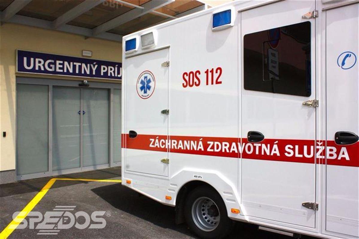 Automatické posuvné dveře pro nemocnici sv. Michala 3