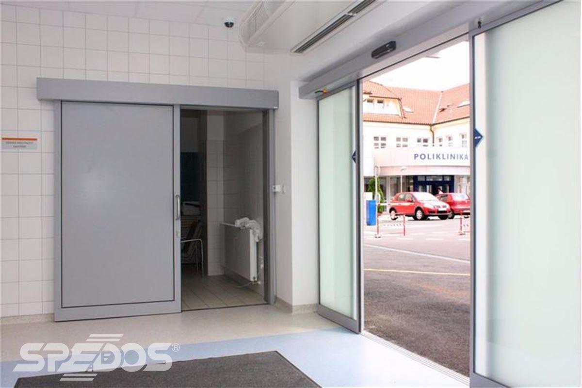 Automatické posuvné dveře pro nemocnici sv. Michala 5
