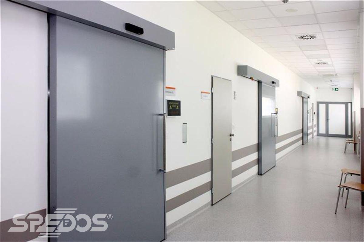 Automatické posuvné dveře pro nemocnici sv. Michala 6
