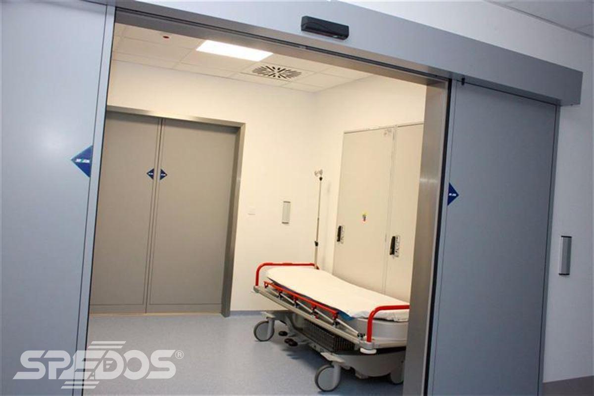 Automatické posuvné dveře pro nemocnici sv. Michala 7