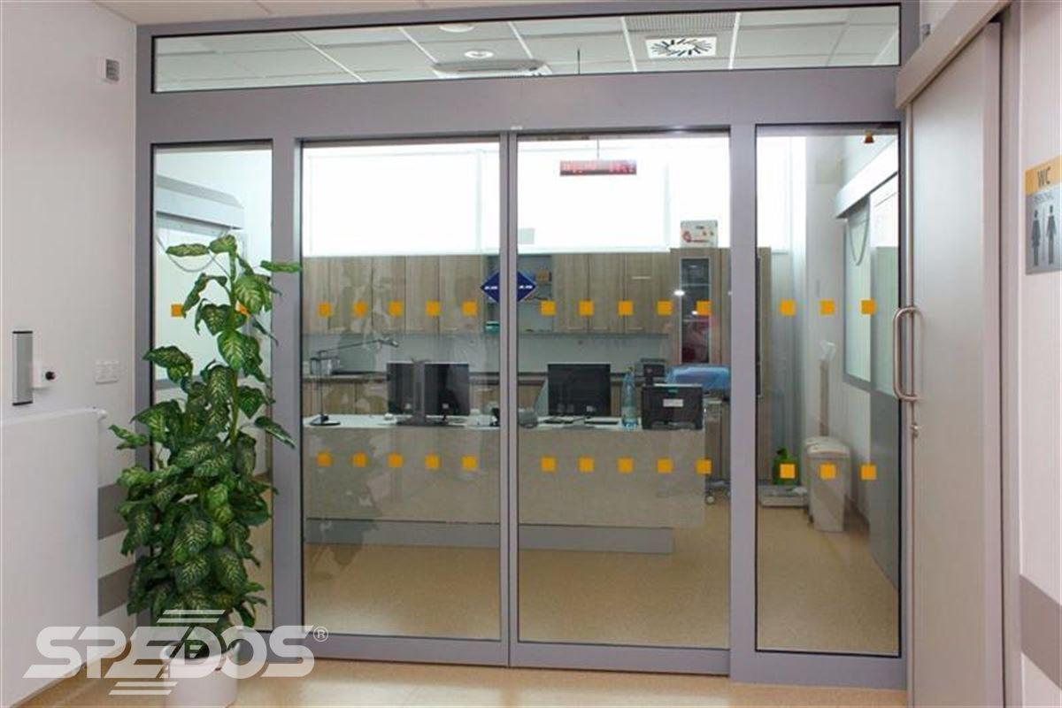 Automatické posuvné dveře pro nemocnici sv. Michala 8