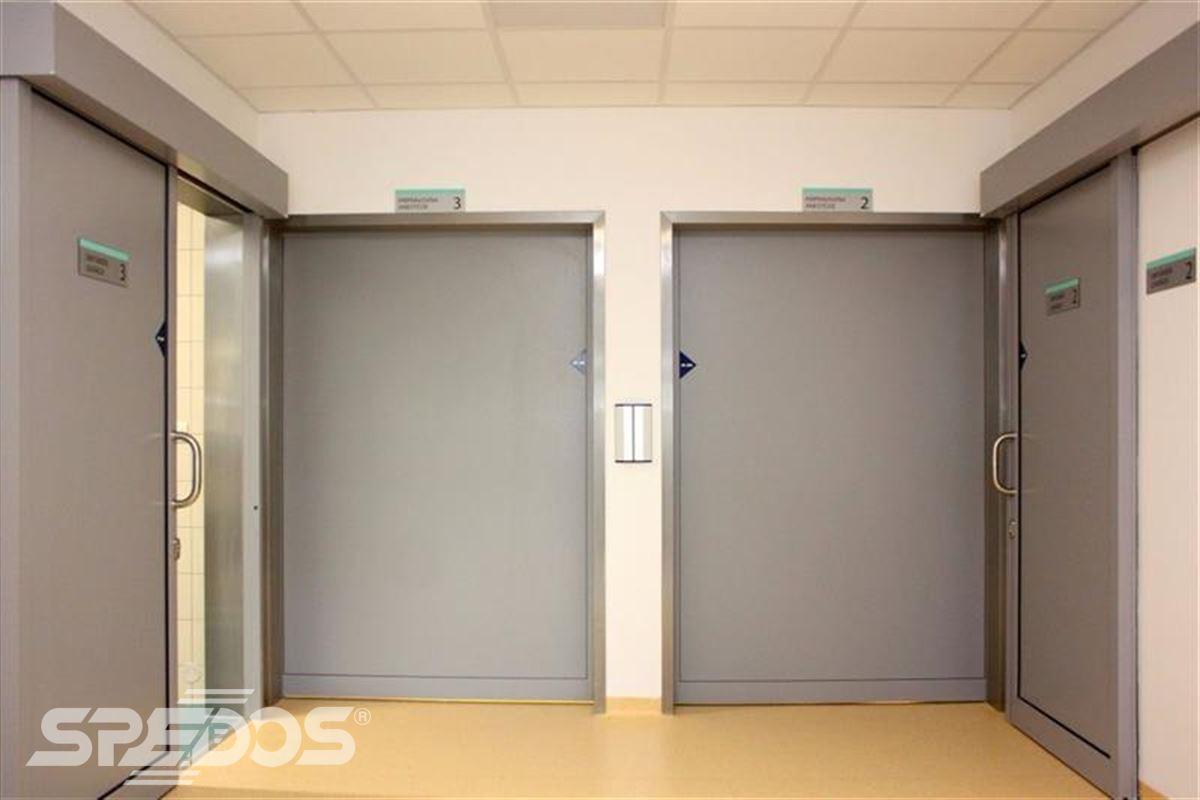 Automatické posuvné dveře pro nemocnici sv. Michala 9