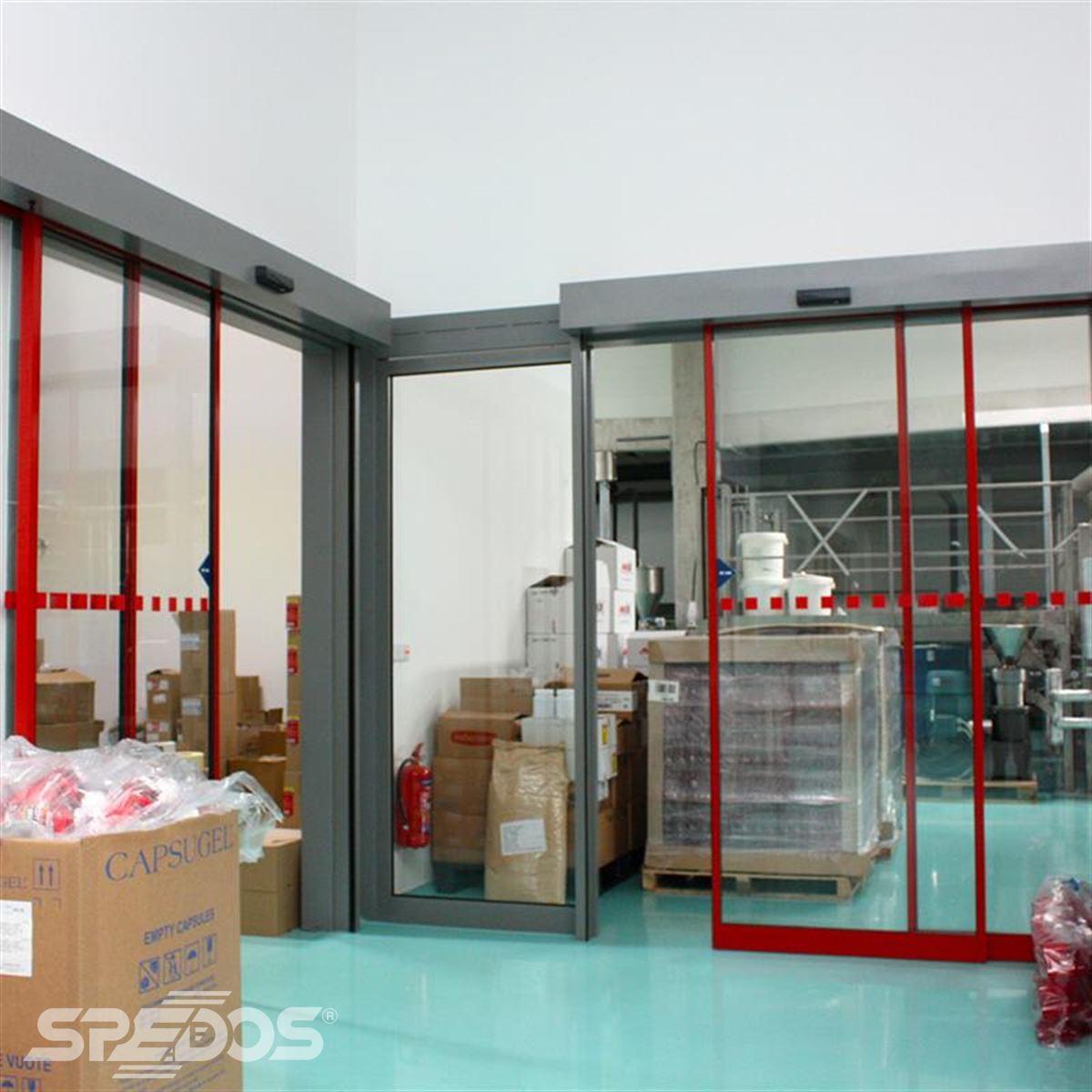 Teleskopické automatické dveře
