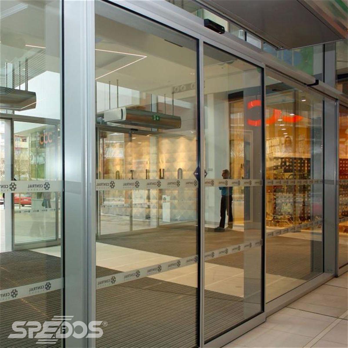 automatické dveře posuvné pro obchodní centrum Central Kladno