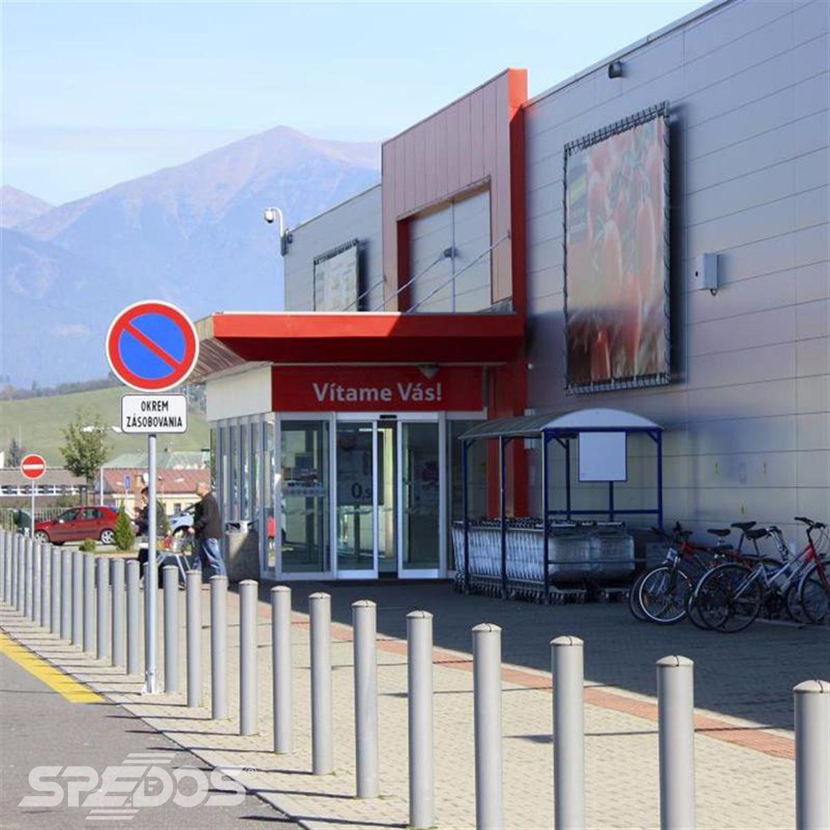 automatické dveře posuvné pro TESCO 3