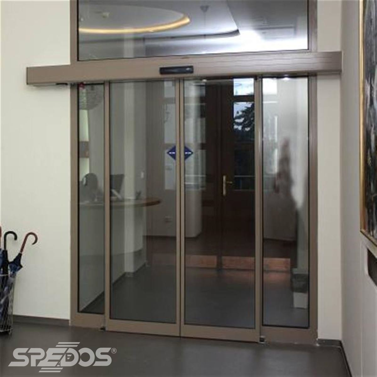 automatické dveře pro sanatorium Šarlota 2