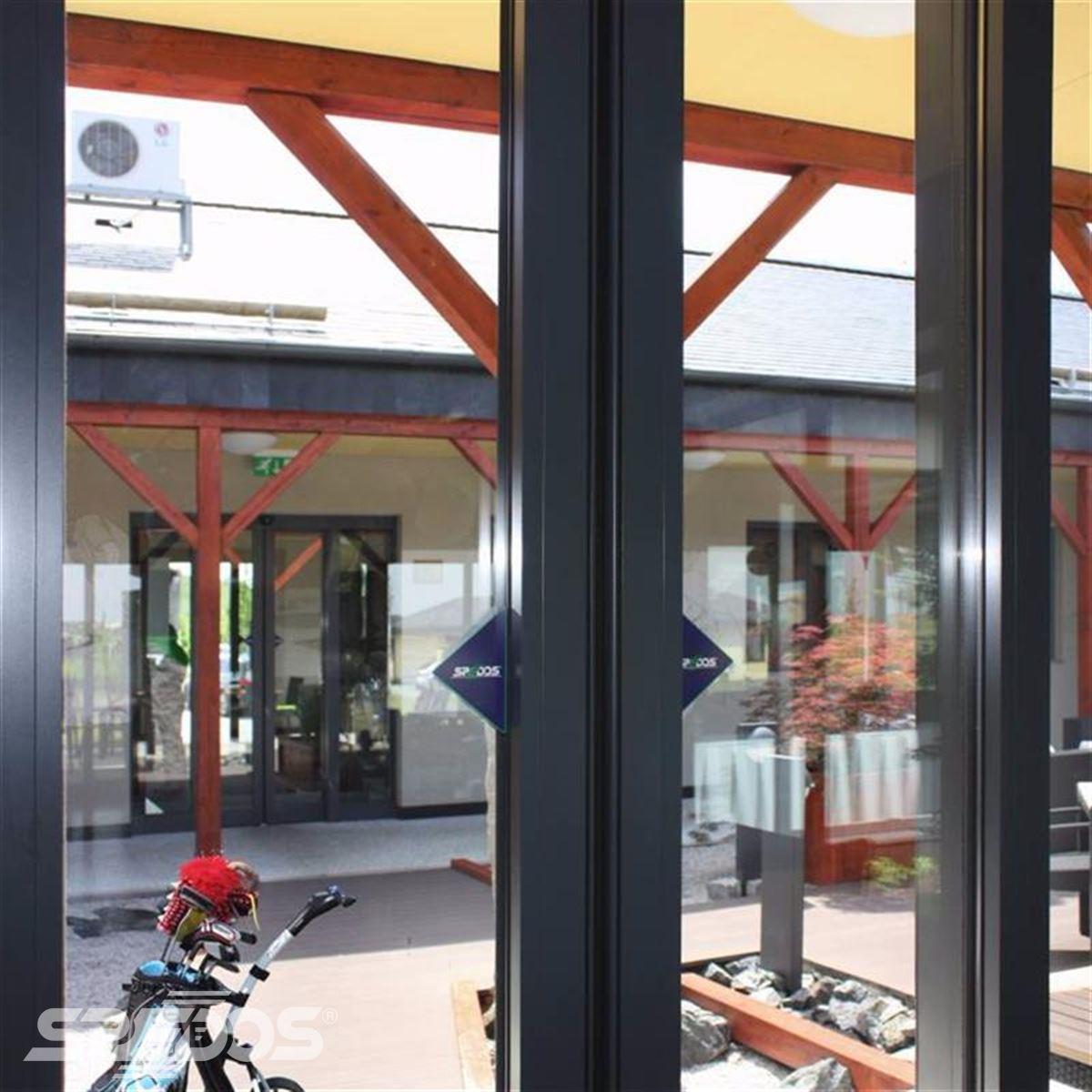 automatické dveře Spedos v golfovém resortu 2