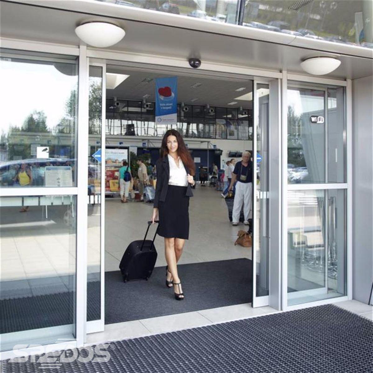 automatické dvoukřídlé dveře Spedos