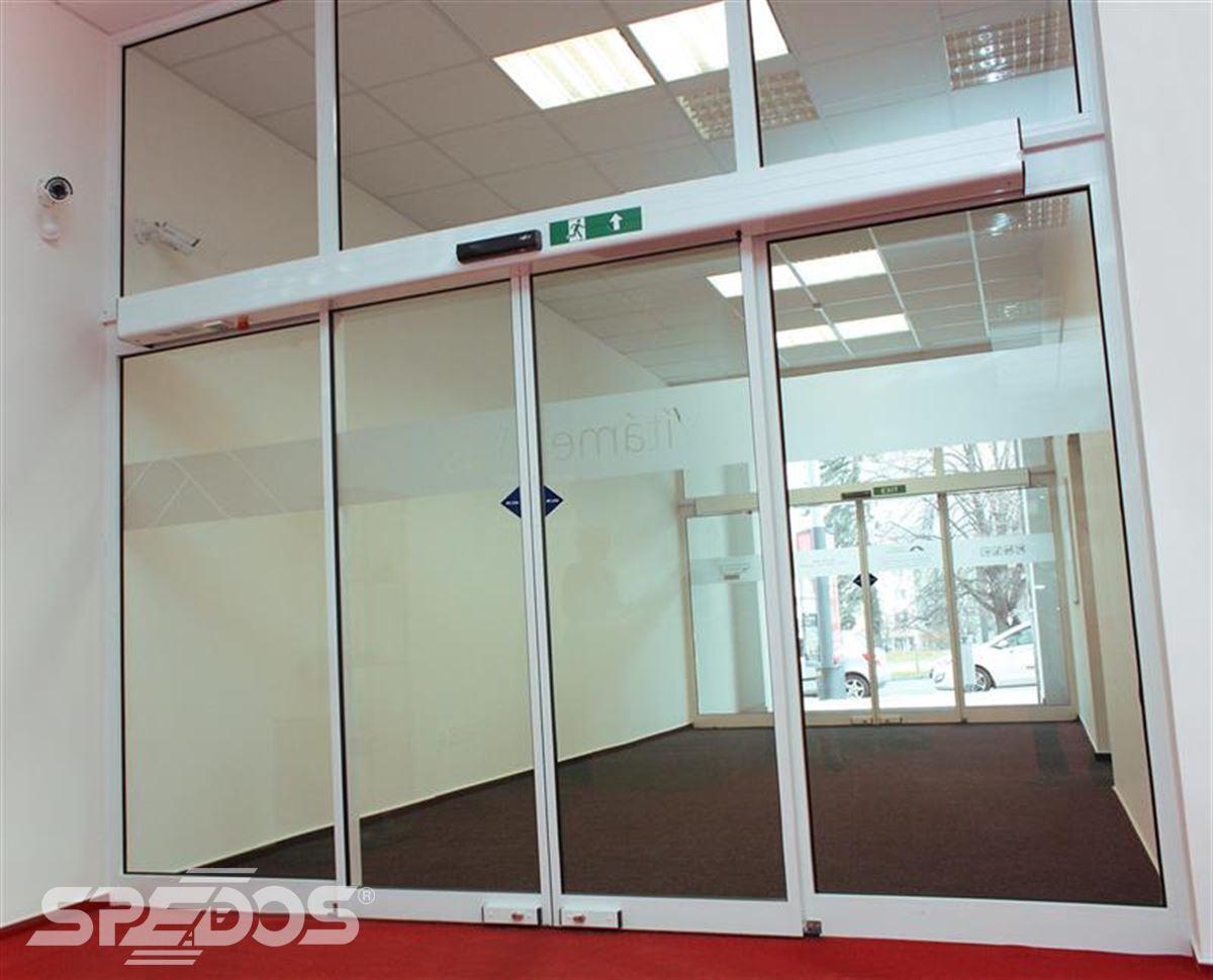 Automatické posuvné dveře popis konstrukce