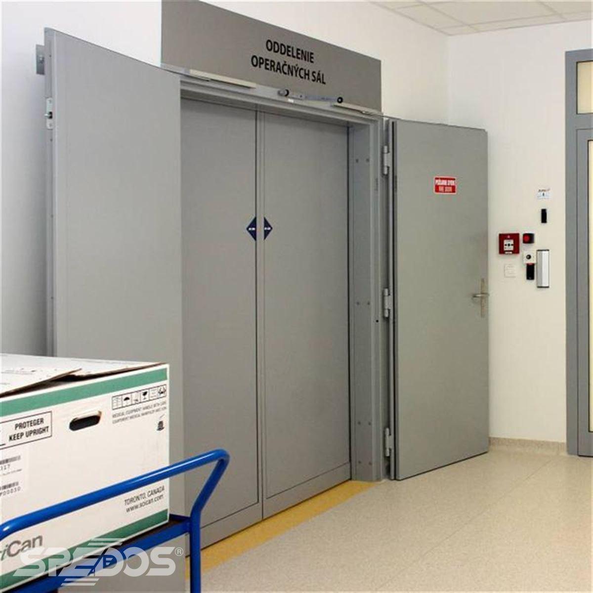 Dvoukřídlé automatické posuvné dveře pro nemocnici sv. Michala 6