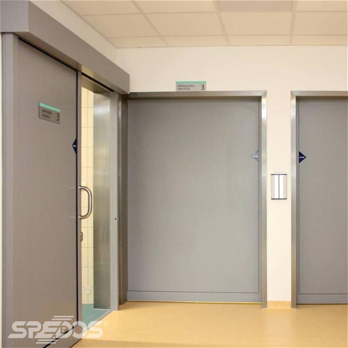Jednokřídlé automatické posuvné dveře pro nemocnici sv. Michala 5