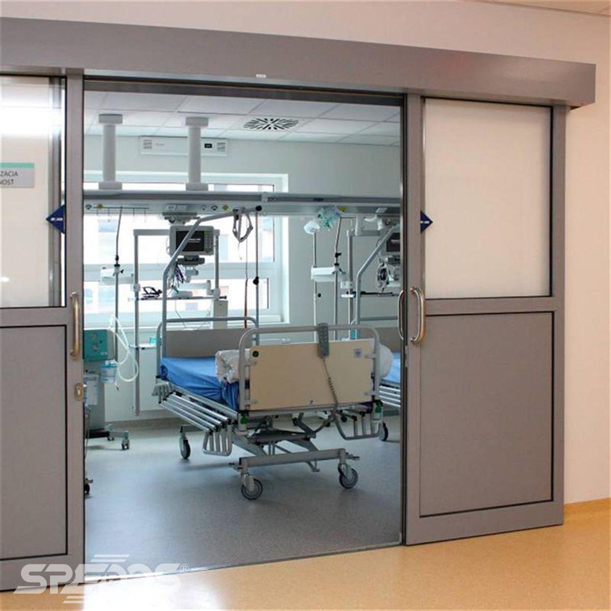 Dvoukřídlé automatické posuvné dveře pro nemocnici sv. Michala 7