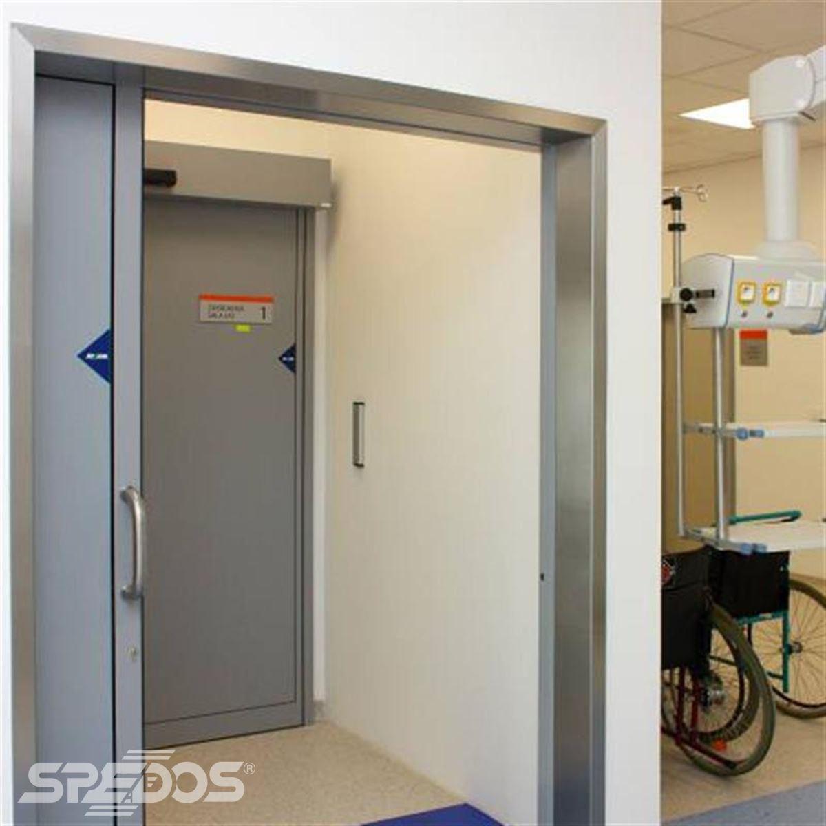 Jednokřídlé automatické posuvné dveře pro nemocnici sv. Michala 1