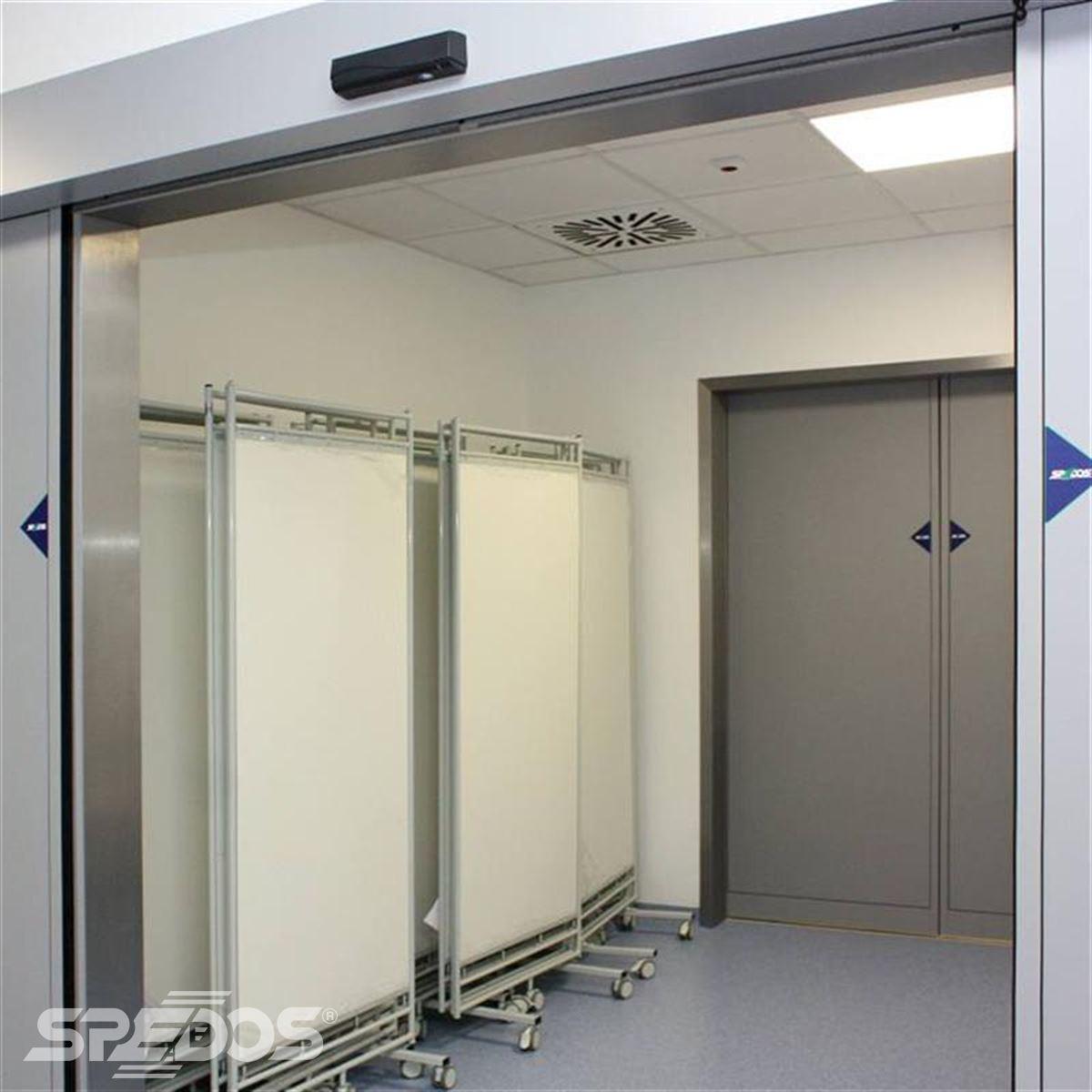 Dvoukřídlé automatické posuvné dveře pro nemocnici sv. Michala 5