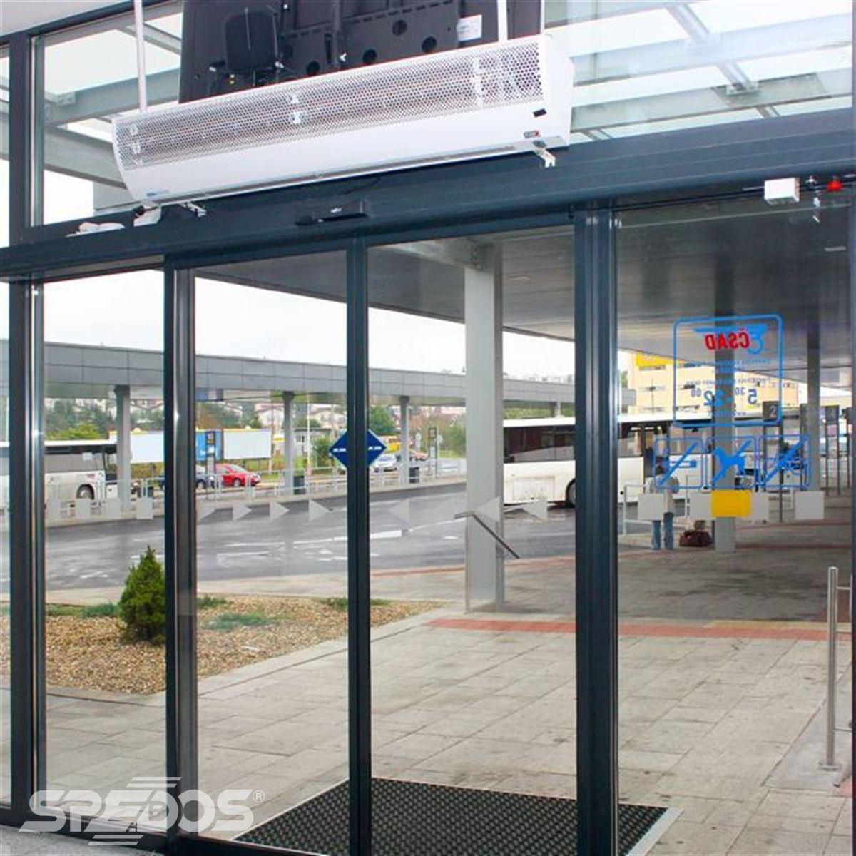 automatické vstupní dveře Spedos