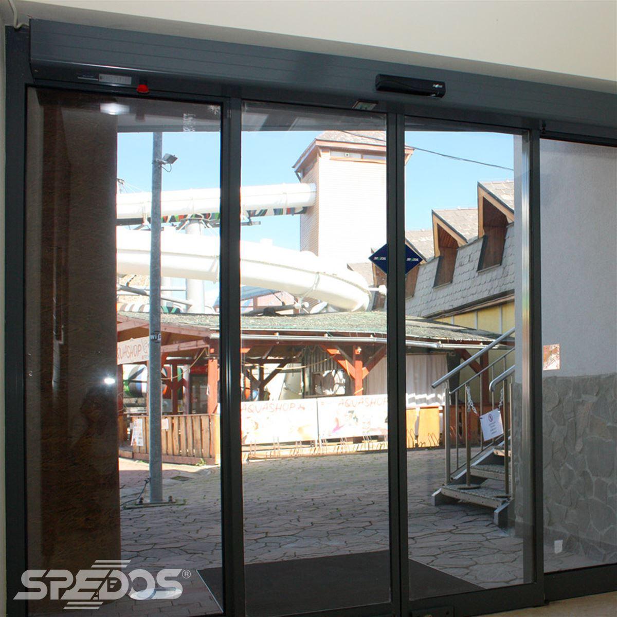 bezbariérové posuvné dveře Spedos 2