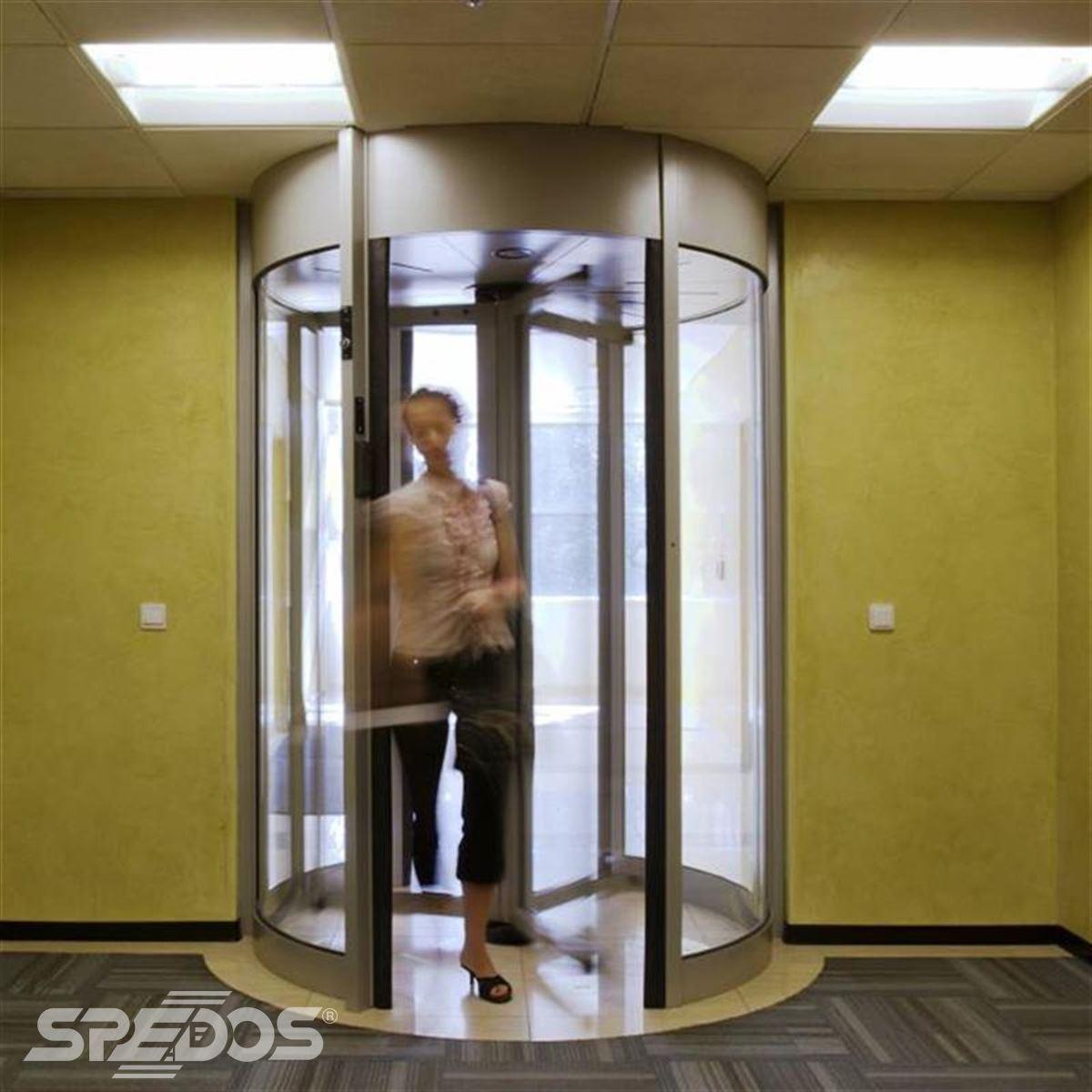 bezpečnostní karuselové dveře TOURLOCK reference 7