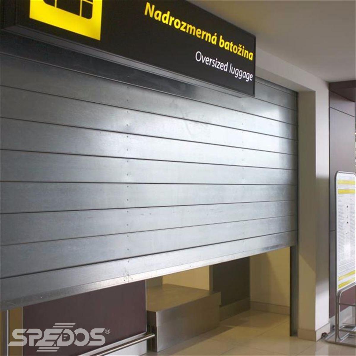 bezpečnostní rolovací vrata pro mezinárodní letiště 2