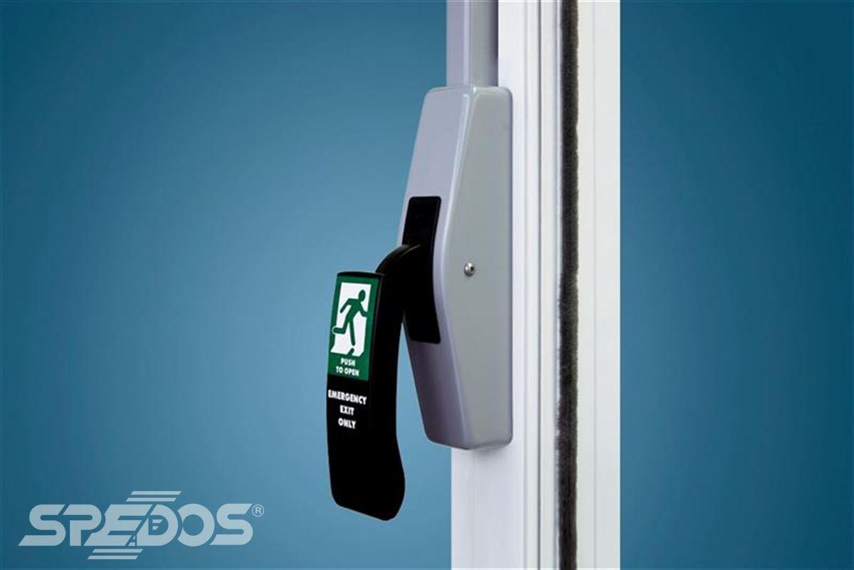 Dveřní uzávěr na automatické dveře