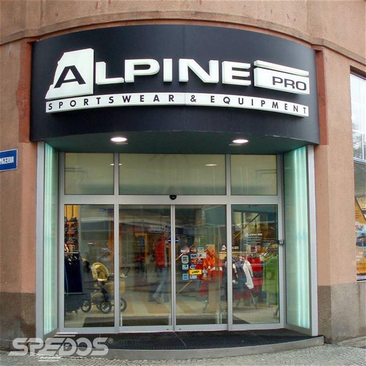 automatické dvoukřídlý vstup pro Alpine Pro