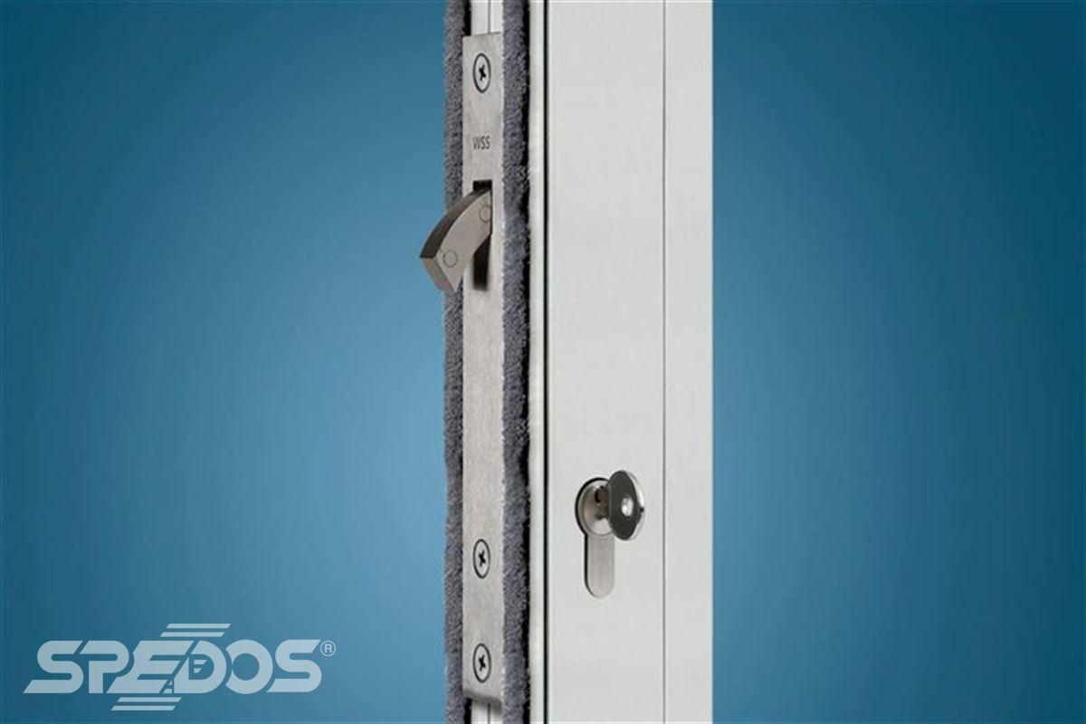 Elektrický zámek k automatickým dveřím