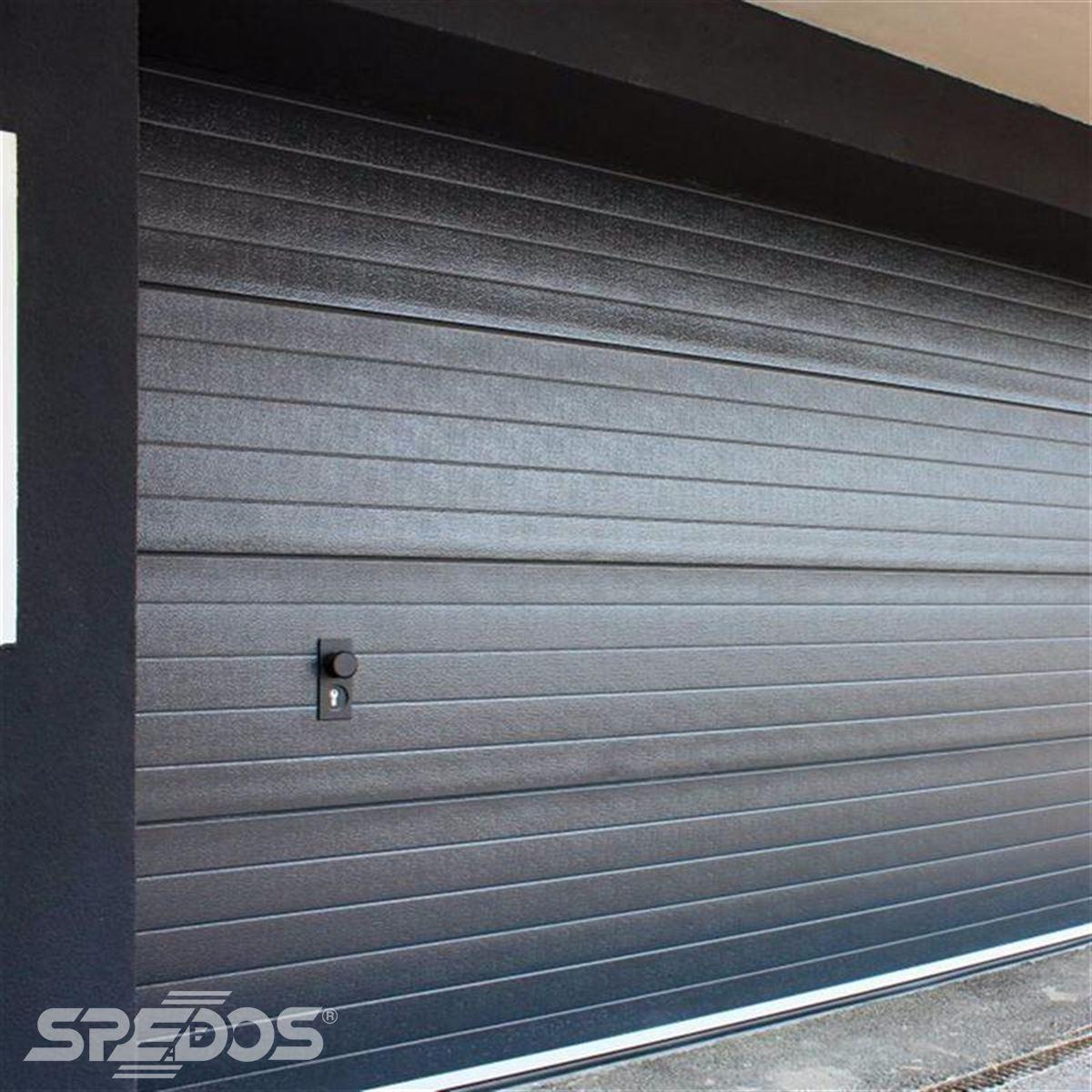 Bezpečná sekční vrata do garáží