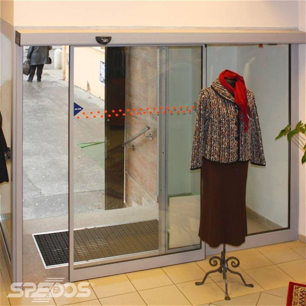 Jednokřídlé automatické dveře