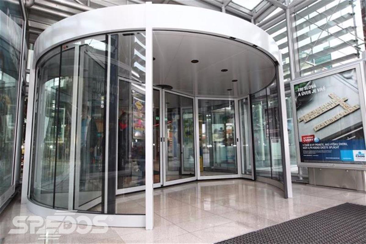 karuselové dveře Duotour