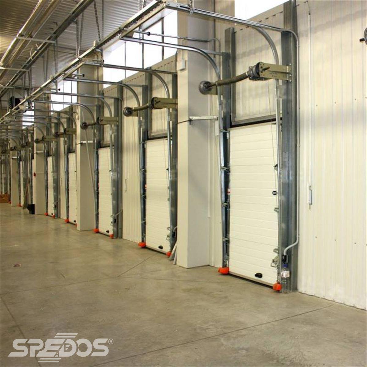 malá sekční vrata Spedos