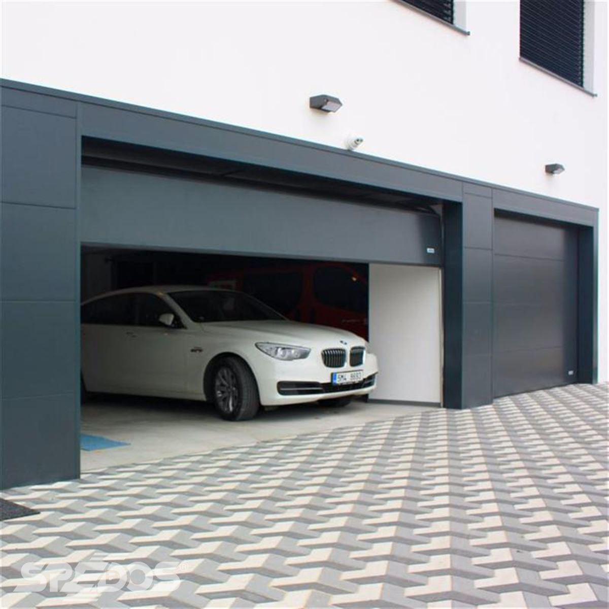 Elegantní garážová vrata