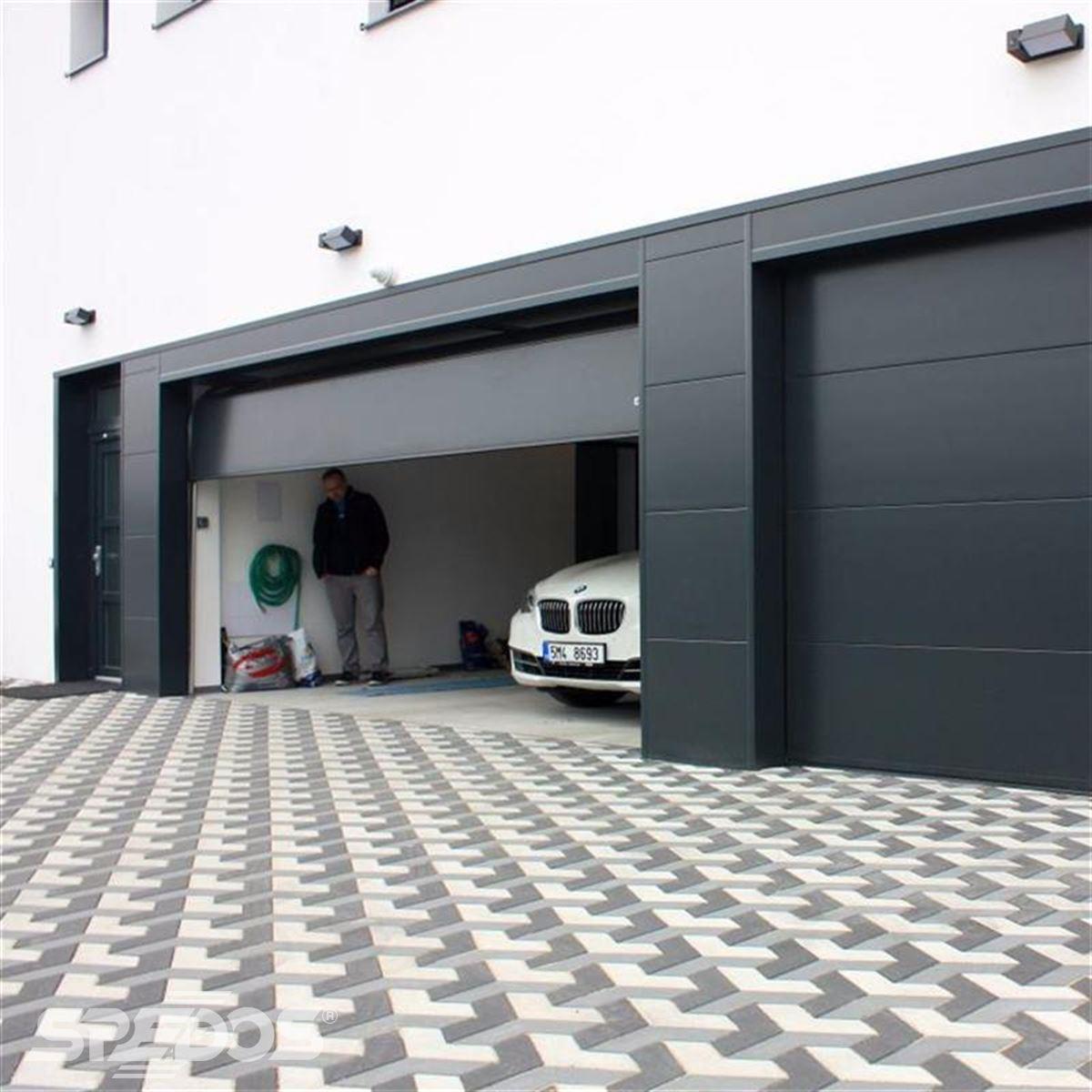 Designová vrata do garáží