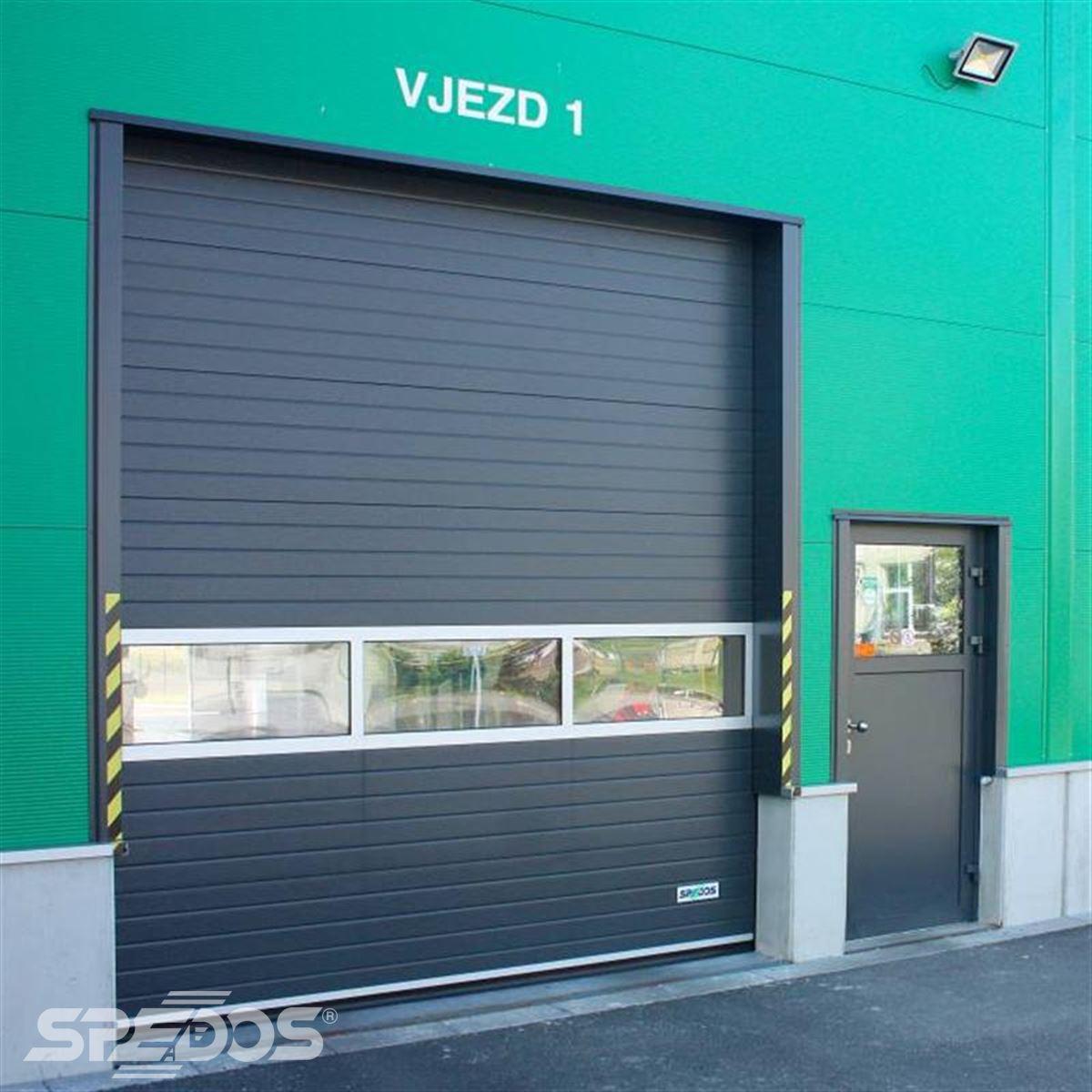 moderní sekční vrata Spedos