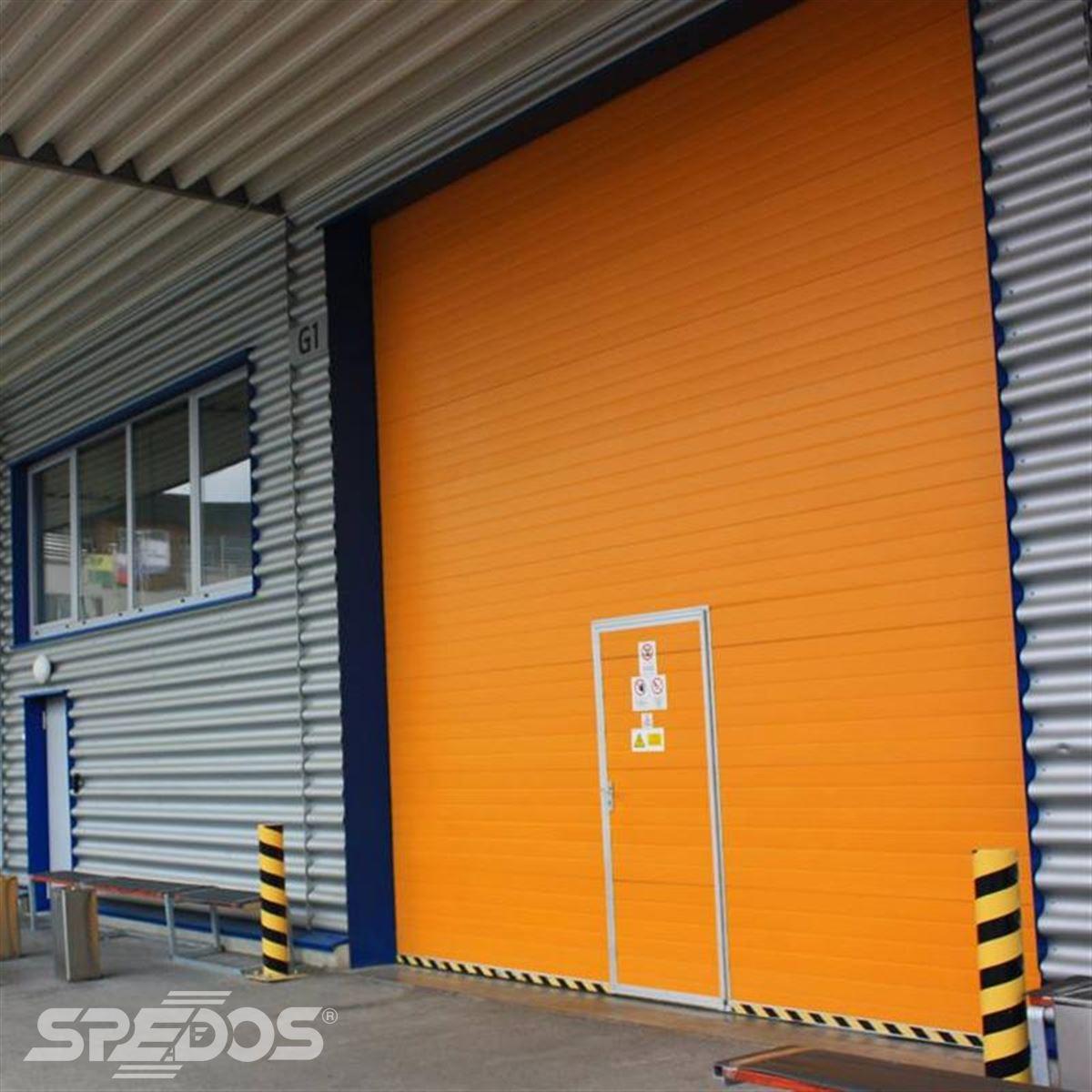 integrované dveře bez vysokého prahu Dymos