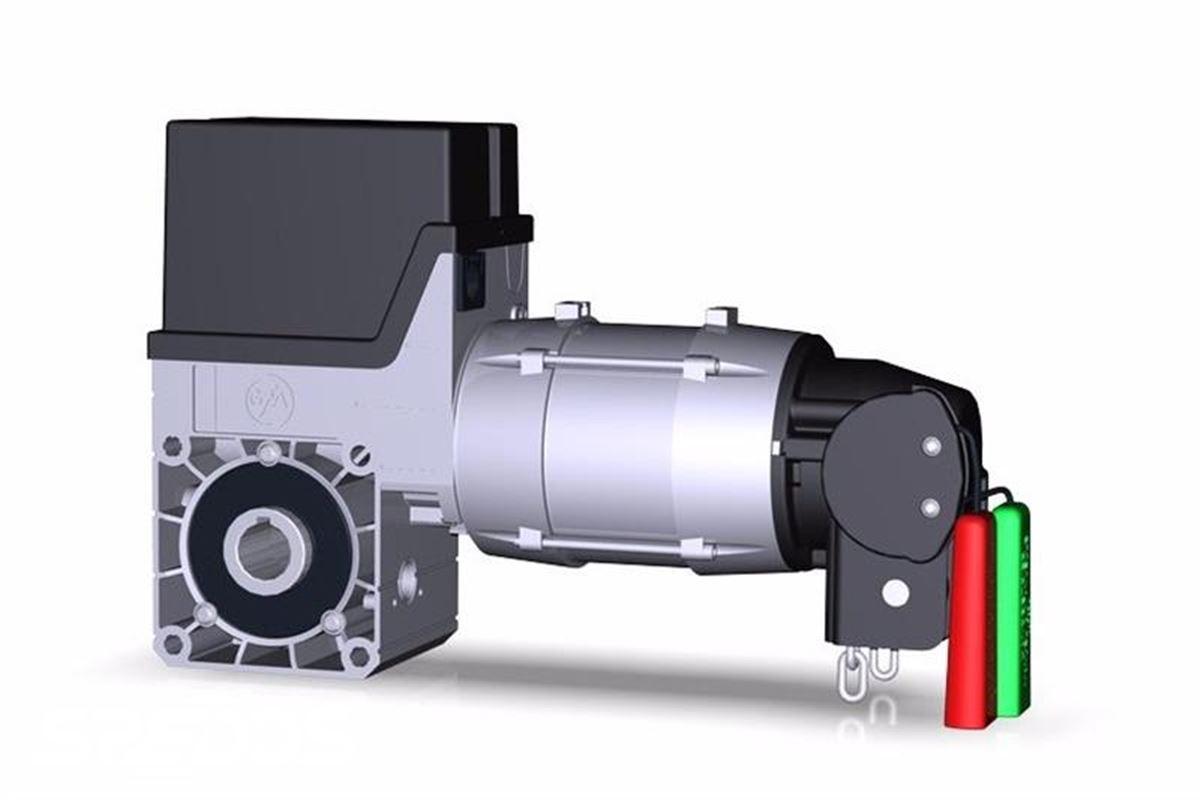 pohony a motory průmyslových vrat