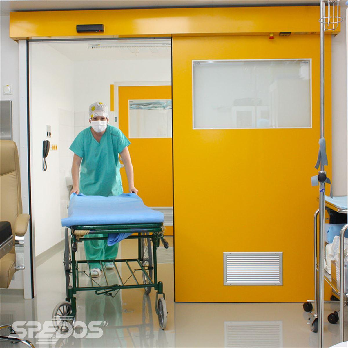 Automatické dveře s elektropohonem