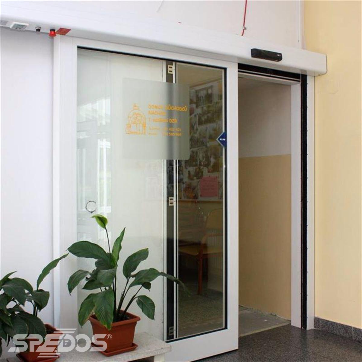 posuvné automatické dveře pro domov důchodců 4