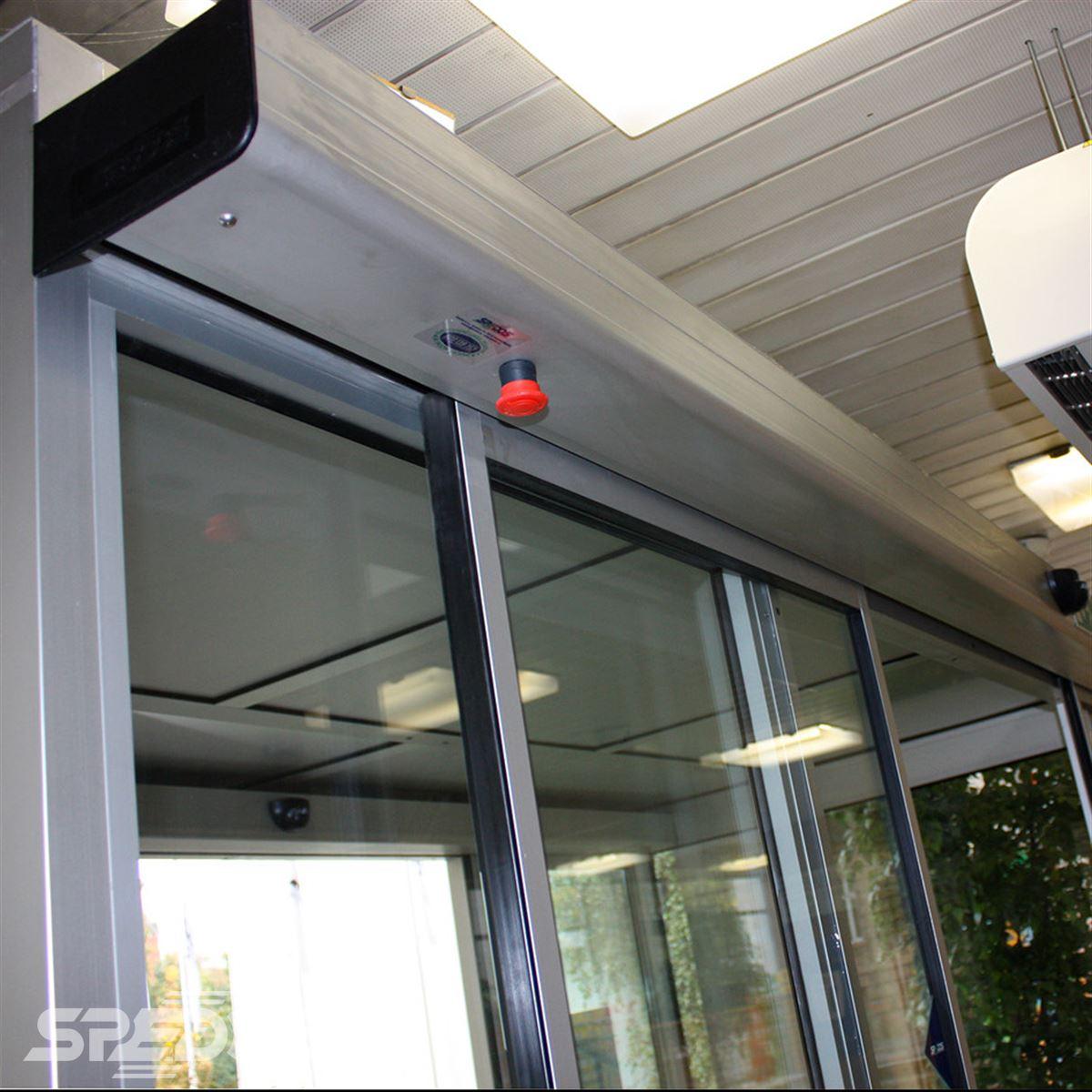 Elektropohon automatických dveří