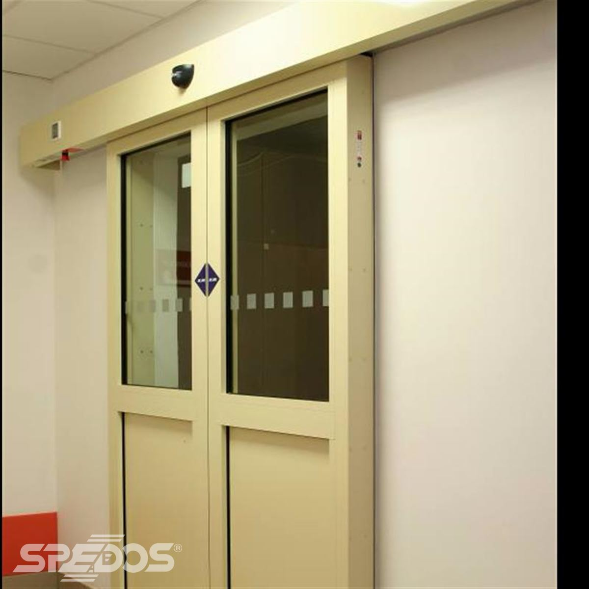 Požární automatické posuvné dveře Spedos