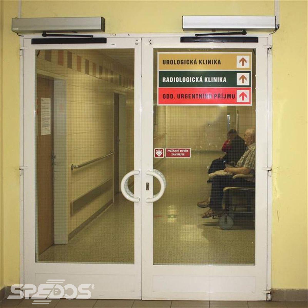 Automatické požární dveře
