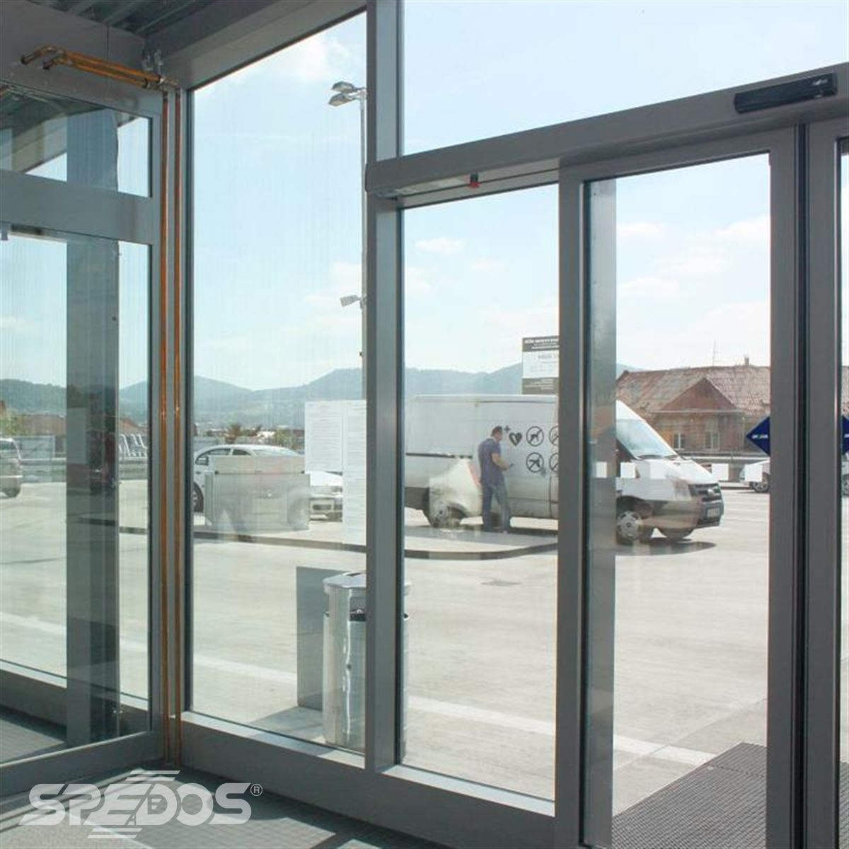 požární automatické posuvné dveře 2