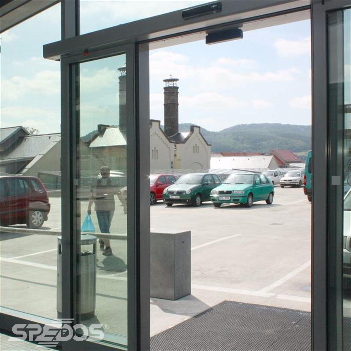 požární automatické posuvné dveře