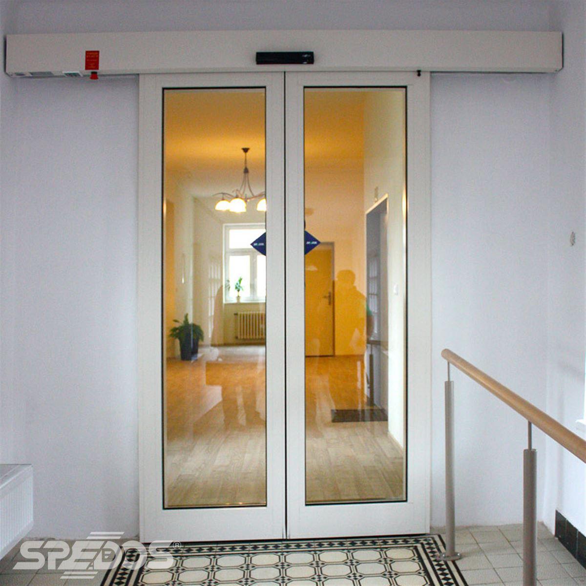 Dvoukřídlé automatické dveře zn. Spedos