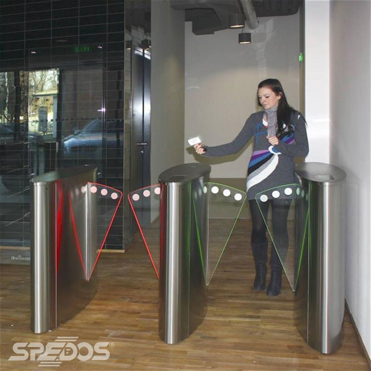 přístupová bariéra SPEEDLANE od Spedosu