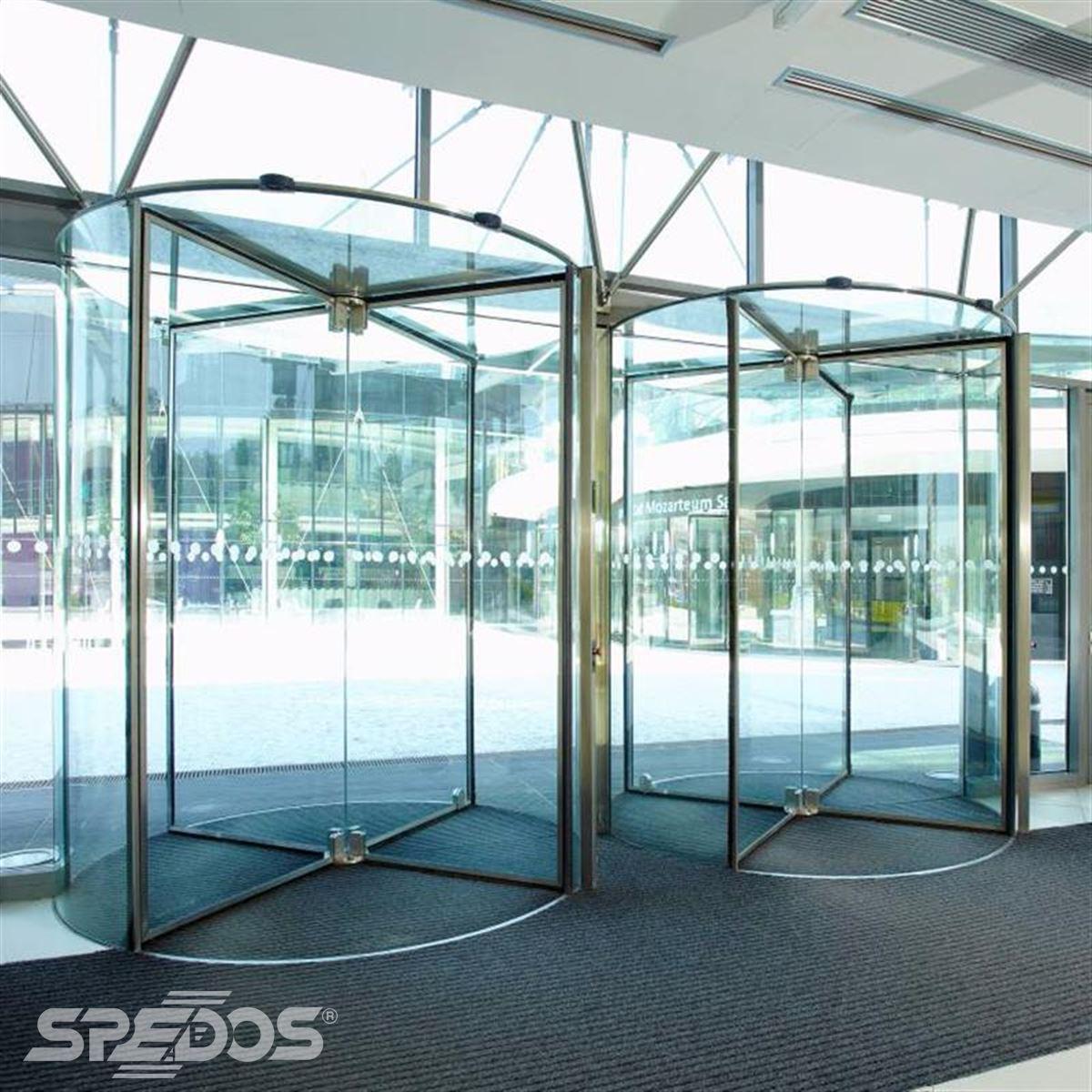 prosklené turniketové dveře Spedos 2