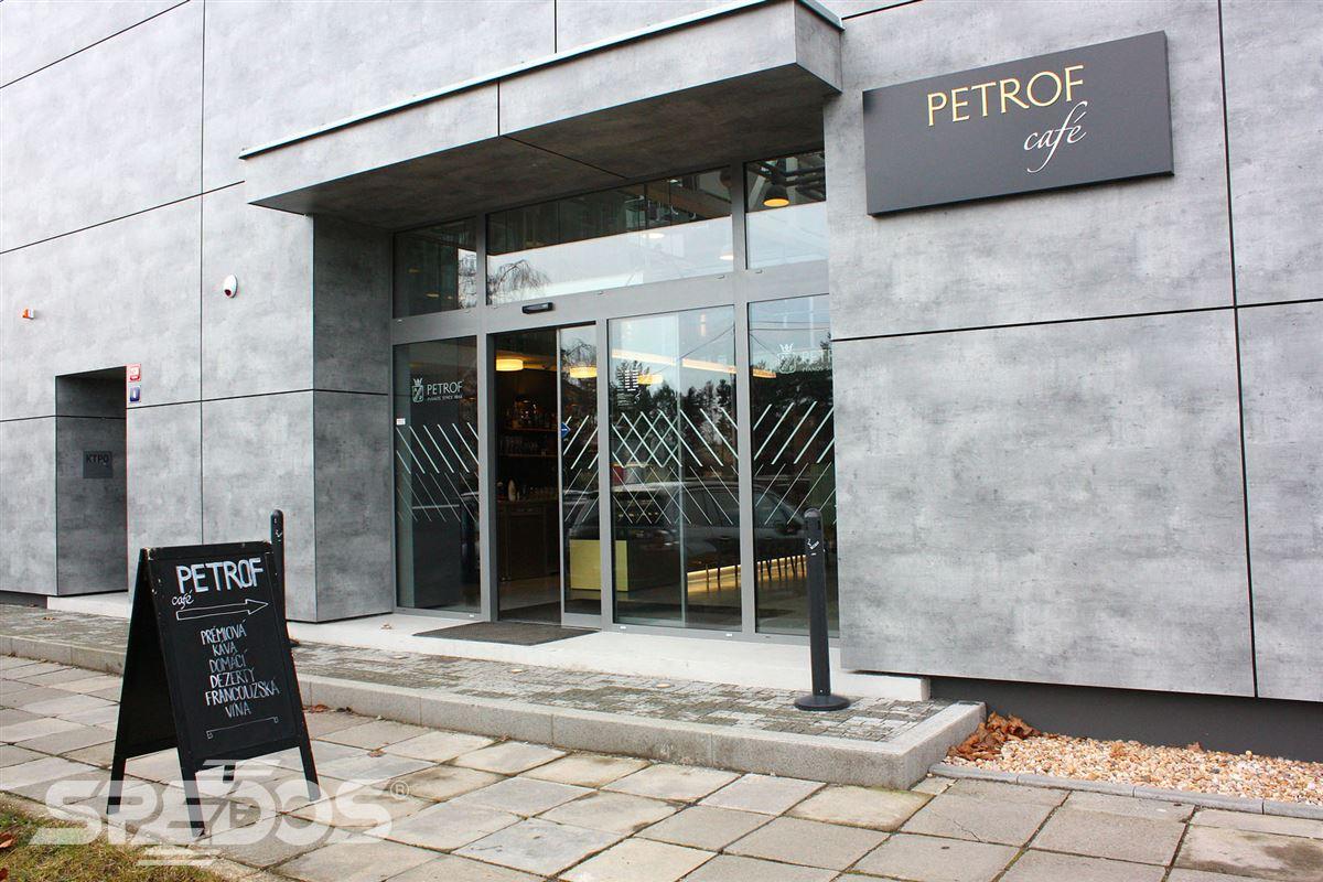Automatické dveře posuvné pro PETROF