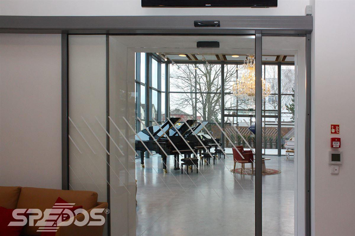 Automatické posuvné dveře jednokřídlé