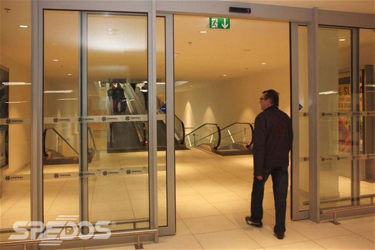 protipožární dveře posuvné pro CENTRAL Kladno